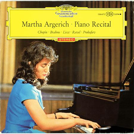 レコード買取専門店「TU-Field」では、Martha Argerich『Piano Recital』のレコードを高価買取しております