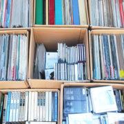 TU-Fieldでは、クラシック、ジャズ中心のLPレコード、EPレコード、CD、オープンリールテープ、音楽書籍を多数高価買取いたしました