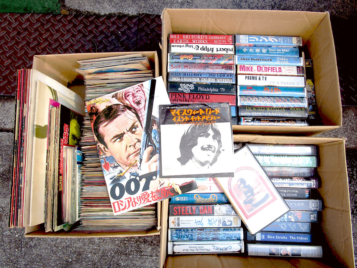 大阪のレコード買取専門店「TU-Field」では、洋画(アクション、SF、古典名画)やスクリーンミュージック、ムード音楽、洋楽(シャーリー・バッシー、プログレ)のレコードを高価買取いたしました