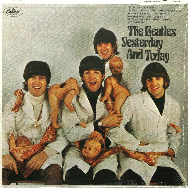 ビートルズ「Yesterday And Today」US盤ブッチャーカバーを高価買取しております