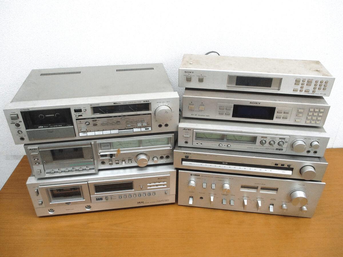 大阪のレコード買取専門店「TU-Field」では、 オーディオ機器を積極的に高価買取しております