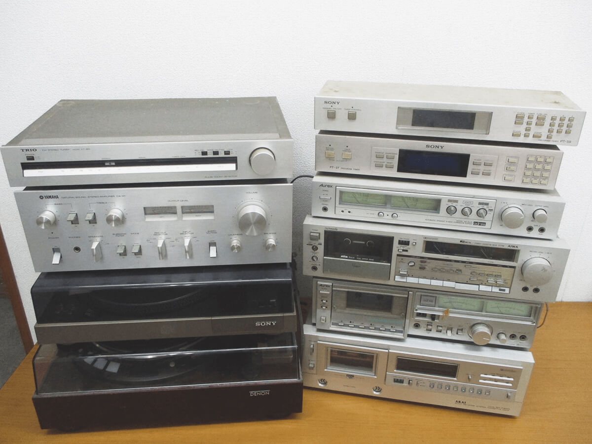 大阪のレコード買取専門店「TU-Field」では、レコード・オーディオ機器を高価買取しております