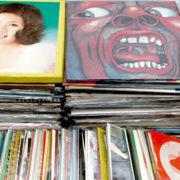 南沙織、都はるみ、小柳ルミ子など歌謡曲、キング・クリムゾンなどプログレッシブ・ロックのレコードLPレコード