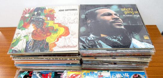 TU-Fieldでは、「うる星やつら」などアニメのレコード、ジョニ・ミッチェル、マイケル・ジャクソンなど洋楽のレコードを高価買取いたしました