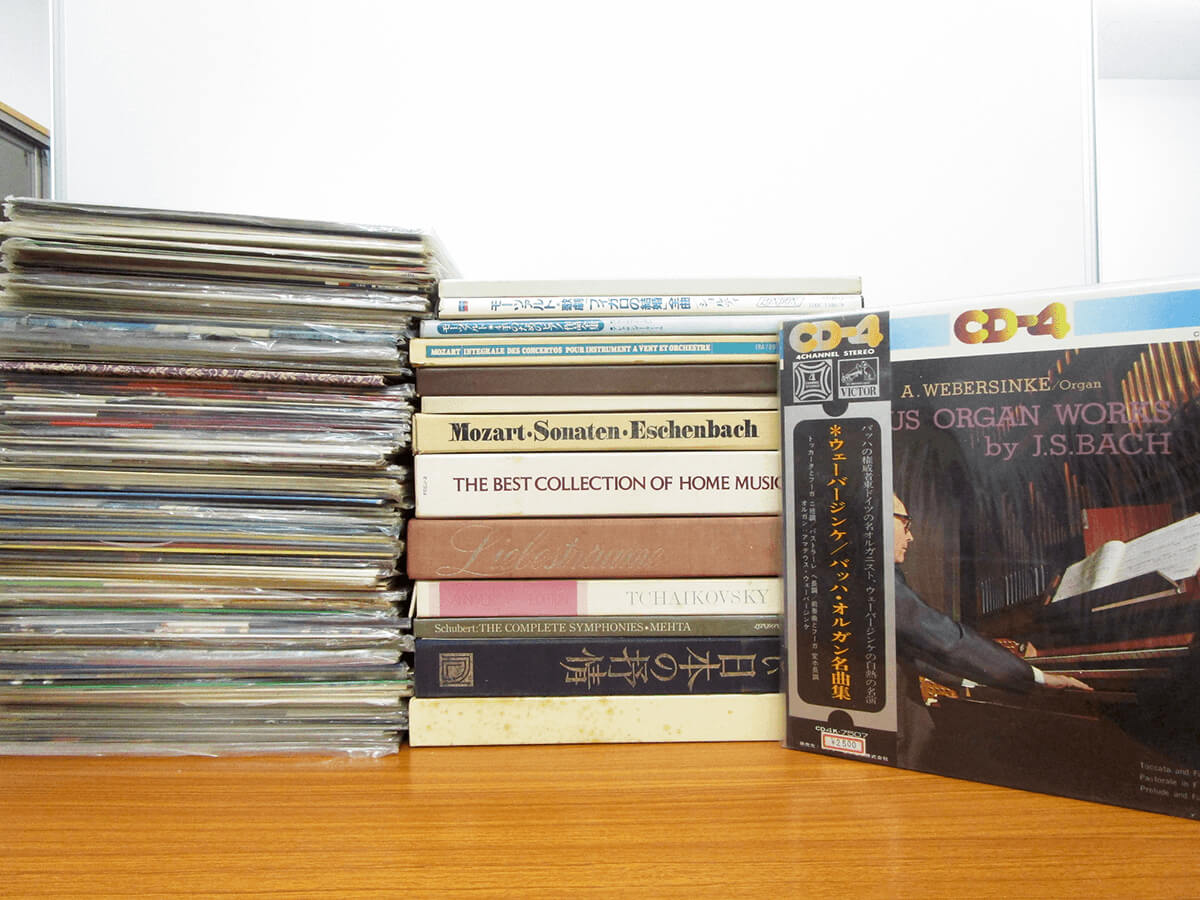 クラシック 交響曲、オペラ、協奏曲、オルガン、モーツァルト、バッハ、マーラー、シベリウス レコード買取