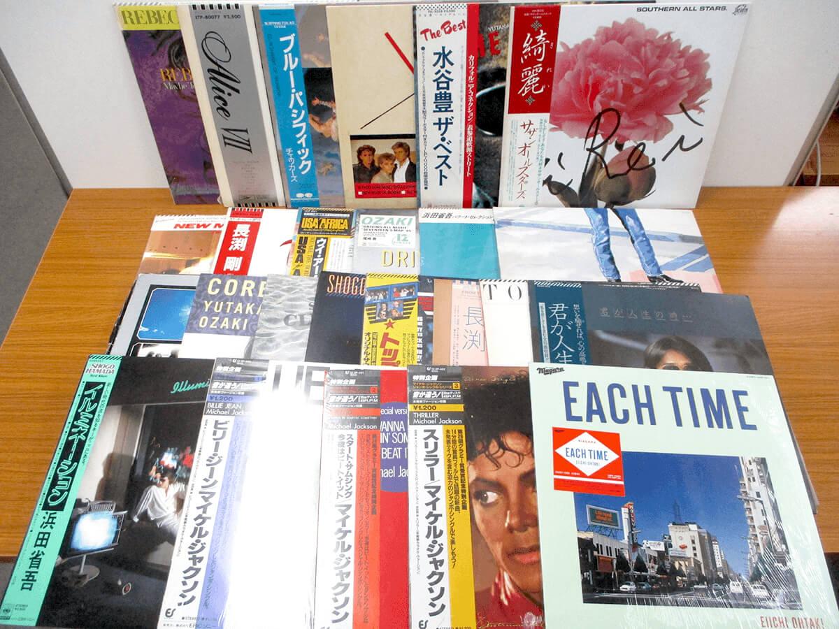大阪のレコード買取専門店「TU-Field」では、尾崎豊、浜田省吾、AORを積極的に買取しております