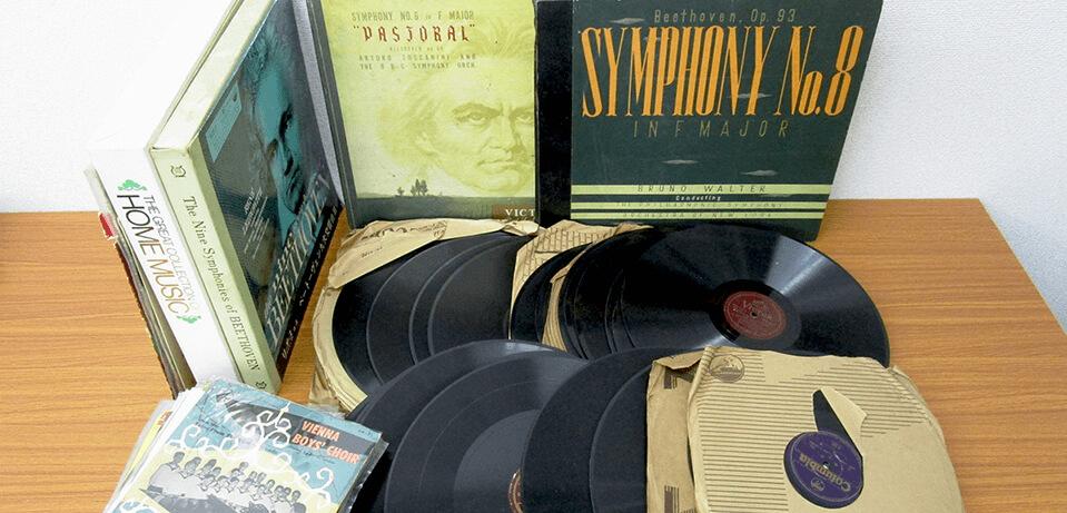 TU-Fieldでは、ベートーヴェンなど、クラシックのLPレコードを高価買取いたします