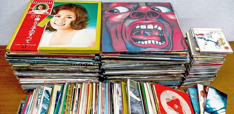 南沙織、都はるみ、小柳ルミ子など歌謡曲、キング・クリムゾンなどプログレッシブ・ロックのレコード買い取り