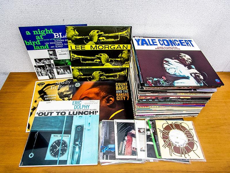 大阪のレコード買取専門店「TU-Field」では、ブルーノート、プレスティッジなど、ジャズのLPレコードを高価買取いたします