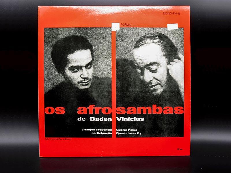 大阪のレコード買取専門店「TU-Field」では、Vinicius De Moraes, Baden Powellの「Os Afro Sambas」などのブラジル音楽を高価買取いたします