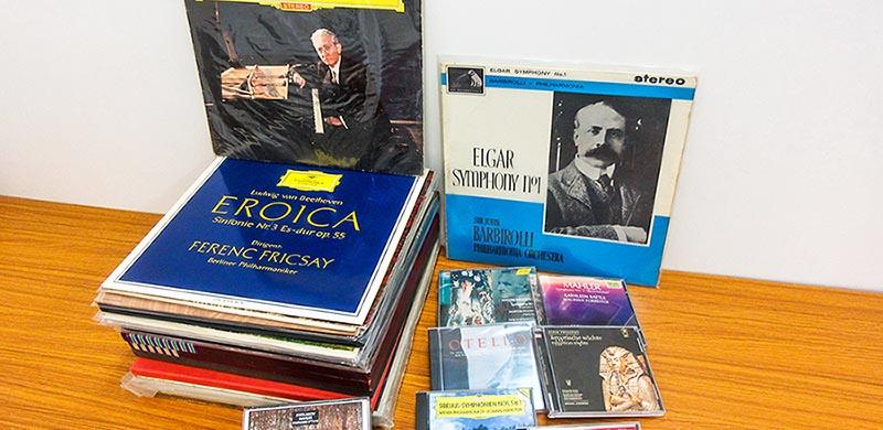 店頭買取にてLPレコードとCD、約30点を買取査定、店頭買取事例をご紹介しています