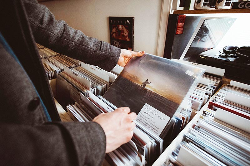 ロックの中古レコードの買い取りはTU-Fieldにお任せください