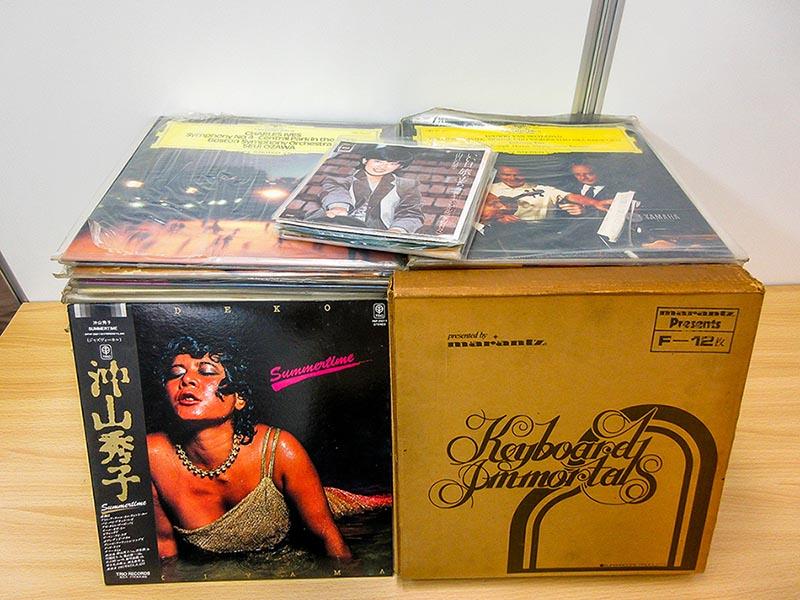 大阪のレコード買取専門店「TU-Field」では、沖山秀子の「Summertime」など、和ジャズのレコードを高価買い取りしております