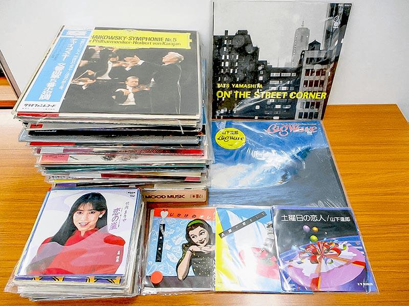 大阪のレコード買取専門店「TU-Field」では、山下達郎、竹内まりや、大瀧詠一などの邦楽のLPレコードを高価買取いたします