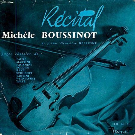レコード買取専門店「TU-Field」では、ミシェル・ブシノー『RECITAL』のレコードを高価買取しております
