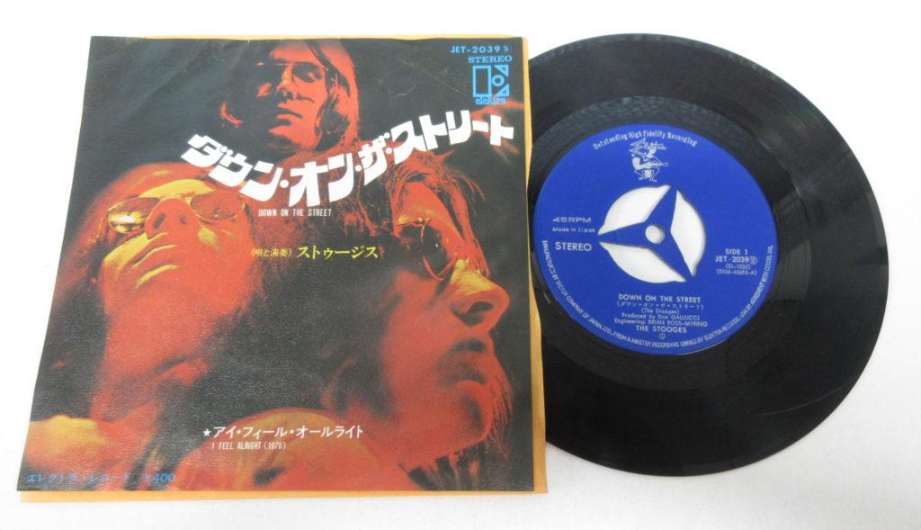 ストゥージズ「ダウン・オン・ザ・ストリート」のレコード