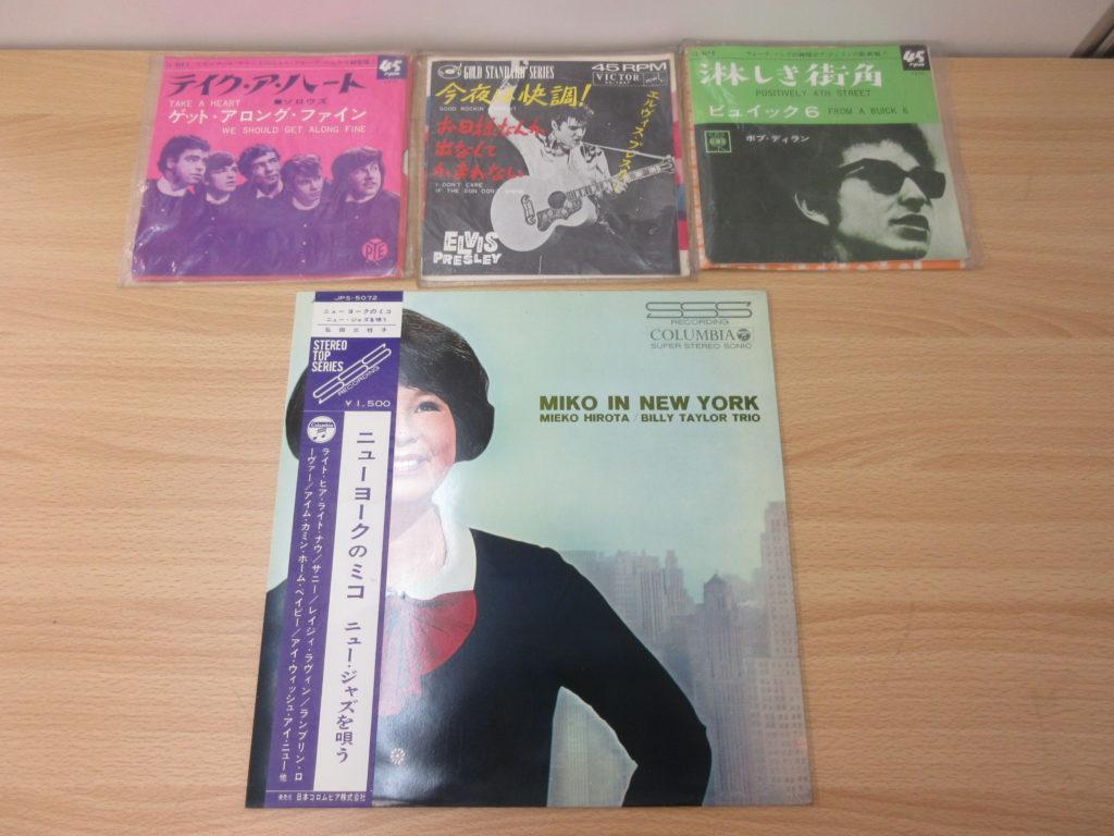 60年代洋楽、邦楽のレコード100枚