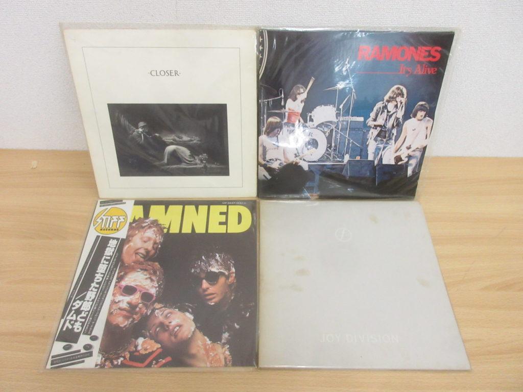 出張買取事例:パンクなどレコード200点で買取価格8万円