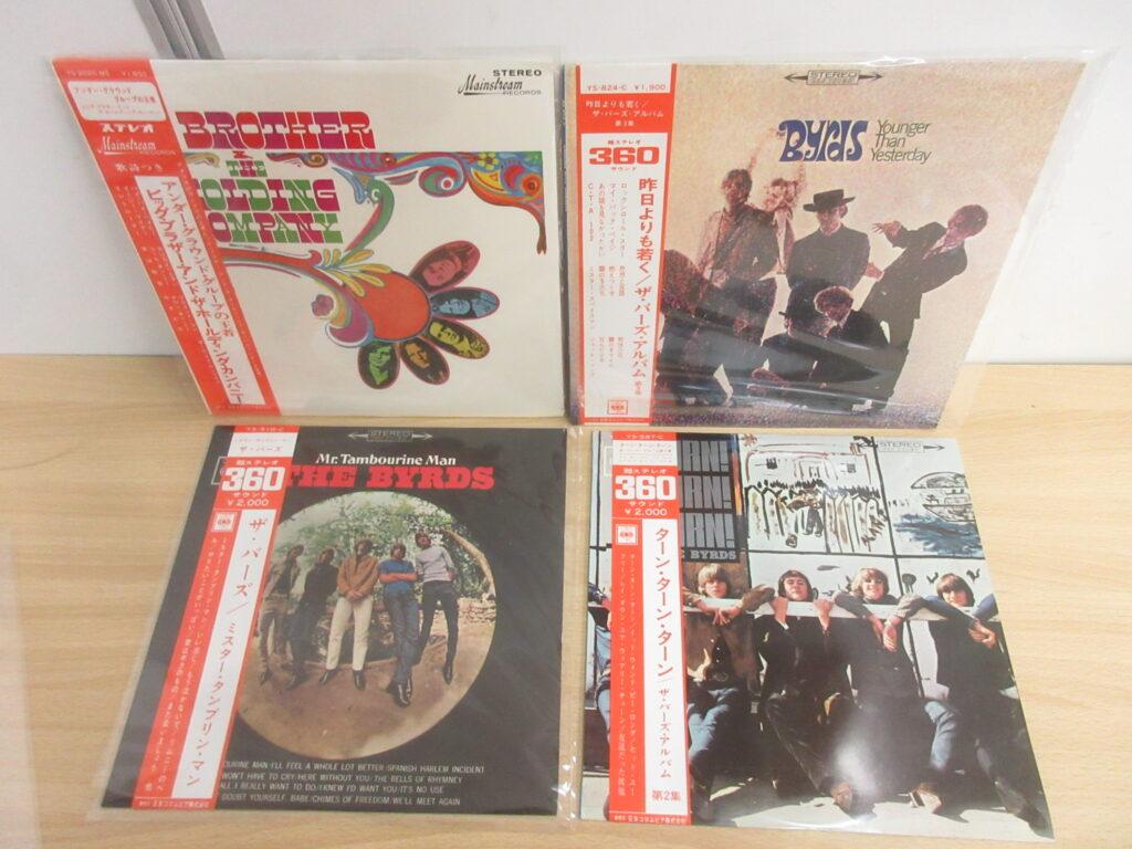 出張買取事例:ロックのレコード180点で買取価格35万7,300円