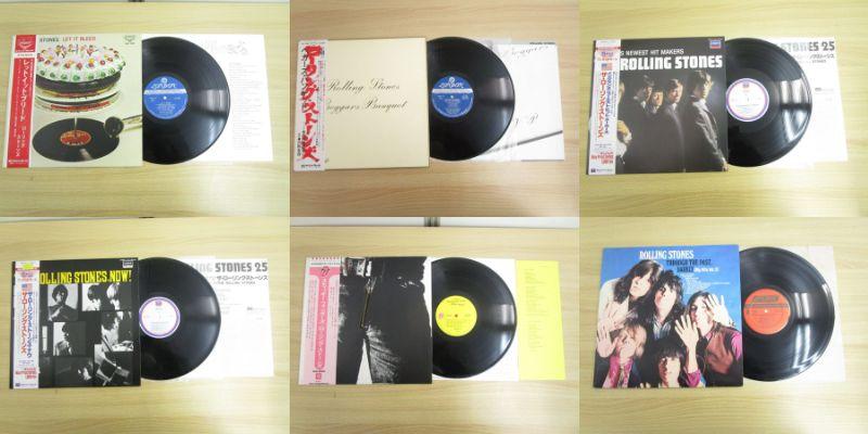 洋楽 ローリング・ストーンズ レコード 買取
