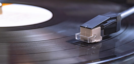 ドーナツ盤のレコード